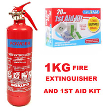 1kg Powder Fire Extinguisher for Home Office Car Kitchen