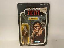 Vintage Kenner Star Wars Chewbacca MOC Carded Figure - 65 Back ROTJ