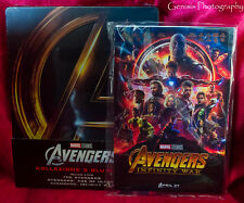 Avengers 1-3 Trilogy (Blu-ray Steelbook) + Art Cards **Import Region Free **