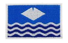 PAtch ecusson brodé thermocollant drapeau Île de Wight Anglais BACKPACK ISLE of