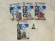 Lot of 5 DC Comics Nano MetalFigs - Armored Batman Joker Harley Quinn Batwoman