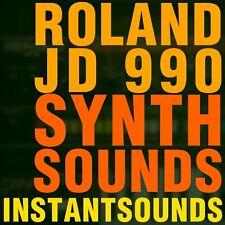Roland JD 990 800 SAMPLES Akai Akp Reason Refill SYNTH SOUND NNXT Wav INSTANT DL