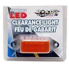 SEA SENSE AMBER LED SUBMERSIBLE CLEARANCE TRAILER LIGHT MARINE BOAT