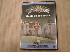 The Three Stooges DVD Goofs On The Loose