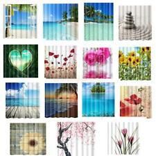 15 Types Shower Curtains Home Hotel Room Sheer Decor Mildew Resistant