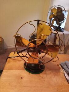 Antique Westinghouse Brass Fan  1912