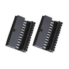 2 Teiliges Motherboard 24-poliges 90 Grad Netzteil für Desktop PC-Versorgung