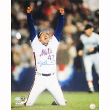 More details for steiner sports mlb new york mets jesse orosco 1986 last out signed photo-rare!!!