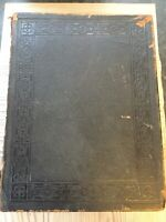 1858 William Collins Family Bible Old Testament