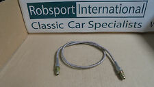 Triumph STAG  ** CLUTCH HOSE Stainless Steel Braided - MASTER TO SLAVE PIPE **