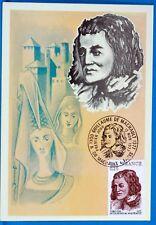 Guillaume de machault France CPA postcard maximum yt 1955 c