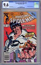 Amazing Spider-Man #273 CGC 9.6 NM+ Wp Puma Beyonder 1986 USA Newsstand Edition