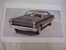1966 MERCURY COMET CYCLONE GT  2DR HARDTOP   11 X 17  PHOTO  PICTURE