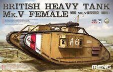 Meng TS-029 - British Tank Mk.V Female 1:35