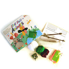New make your own easy Knit animals DIY craft kit for 2 kids age 7+  party game