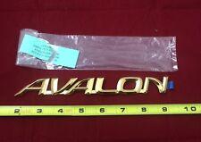 Gold Toyota Avalon Emblem 2000-2004 Trunk Plate Name Badge NEW OEM 75442 AC030