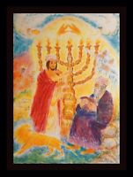 Ira Moskowitz Song of Songs II Hand Signed Numbered Lithograph Judaica ART