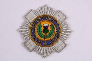 THE MOST ANCIENT ORDER OF THE THISTLE KNIGHTHOOD BREAST STAR BADGE EMBROIDERED