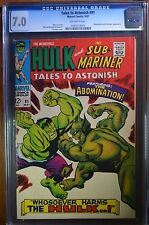 Tales to Astonish (1959-1968 1st Series) #91 CGC 7.0 Abomination and Stranger