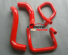 RED FOR Ford Territory SX SY 4.0L 6Cyl 2004-2011 Silicone Radiator Heater Hose