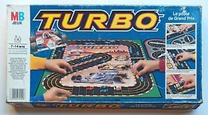 Turbo Le Pilote de Grand Prix 1983 MB Sega Incomplet