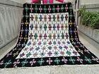 Handmade Moroccan Vintage Berber Rug Azilal Tribal Carpet Beni ourain Rug