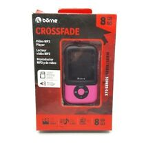 Borne Crossfade 8GB MP3 Player Expandable with MicroSD (MP370-8PN) - Pink™