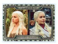 Game of Thrones Complete Progressions Metal Card T1 Daenerys Targaryen