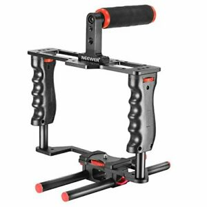 Neewer movie created for camera video cage set (red + black) (1) video cage