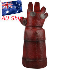 Superhero Hell Boy Gloves Cosplay Horror Red Demon Halloween Gloves Props New