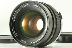 【Exc+3】 Olympus OM-System Zuiko Auto-W 35mm f/2 Wide Angle MF Lens From Japan