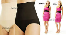 LADIES SEAM FREE HIGH WAIST FIRM CONTROL SLIMMING KNICKERS TUMMY SHAPE SLIMMING