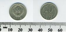 Russia - Soviet Union - USSR 1972 - 10 Kopeks Coin - Hammer & Sickle