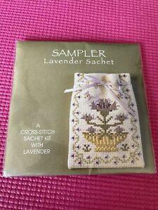 Textile Heritage Lavender Sachet Counted Cross Stitch Kit - Pot Pourri