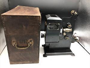 Kodak 'Kodascope' Film Projector Eight Model 30 In Wooden Box