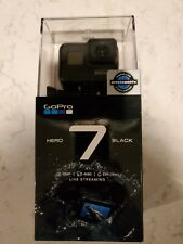 GoPro HERO7 Action Camera - Black  NEVER OPENED
