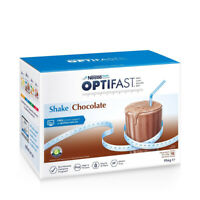 Optifast VLCD Chocolate Weight Loss Shake - 18 x 53g Sachets High Protein Fibre