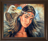 Indian Spirit Dancer Montana Marble Decorative Plaque