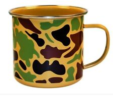 (2) Camoware  Enamel Steel Urban Outfitters CampIng Mugs Brand New