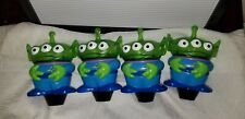 "RARE LOT 4 Interactive TOY STORY Aliens 7"" TALKING Figures DISNEY Pixar"