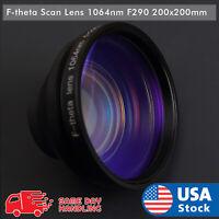 NEW 1064nm Laser F-theta Scan lens FL290/200x200mm