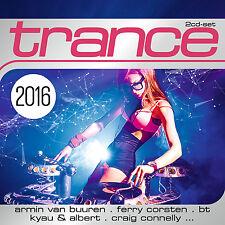 CD Trance 2016 de Various Artists 2CDs