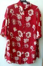 new product 36536 604bc Camicia da donna rossi in seta   Acquisti Online su eBay