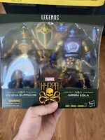 MARVEL LEGENDS HASBRO AVENGERS HYDRA SUPREME AND ARNIM ZOLA 2 PACK SEALED