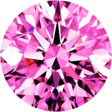 Parcel Natural Super Fine Red Violet Pink Sapphire Melee - Round - AAAA Grade