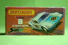 Modellauto - Matchbox - Superfast - Nr. 8 De Tomaso Pantera - OVP