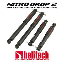 87-96 Dodge Dakota 2WD Nitro Drop 2 Front/Rear Shocks for 4/4 Drop