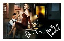 BONES - DAVID BOREANAZ & EMILY DESCHANEL AUTOGRAPHED SIGNED A4 PP POSTER PHOTO