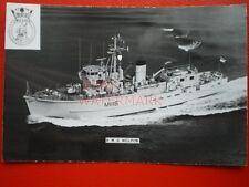 PHOTO  HMS WILTON (M1116) WAS A PROTOTYPE COASTAL MINESWEEPER/MINEHUNTER FOR THE