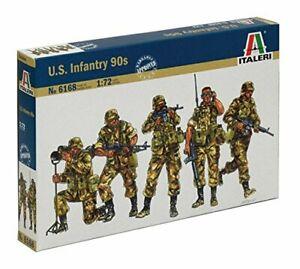 U.S.Infantry 90s Modern Figure Plastic Kit 1:72 Model Italeri